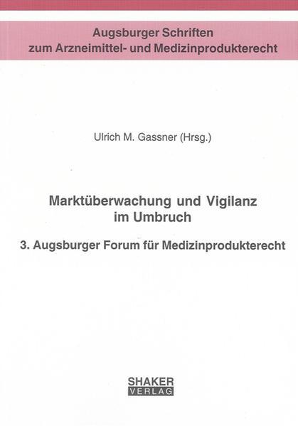 Marktüberwachung und Vigilanz im Umbruch - Coverbild