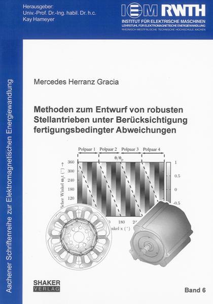 Methoden zum Entwurf von robusten Stellantrieben unter Berücksichtigung fertigungsbedingter Abweichungen - Coverbild
