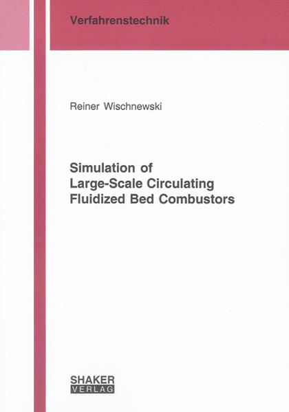 Simulation of Large-Scale Circulating Fluidized Bed Combustors - Coverbild