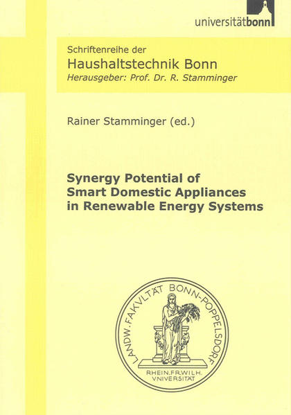 Synergy Potential of Smart Domestic Appliances in Renewable Energy Systems - Coverbild