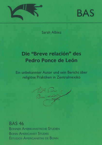 """Die """"Breve relación"""" des Pedro Ponce de León - Coverbild"""
