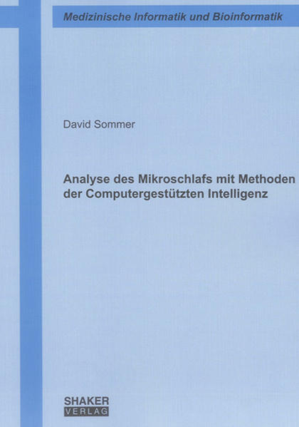 Analyse des Mikroschlafs mit Methoden der Computergestützten Intelligenz - Coverbild