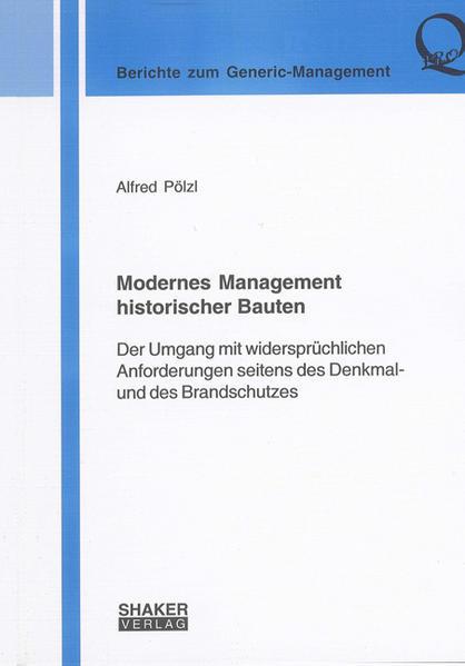 Modernes Management historischer Bauten - Coverbild