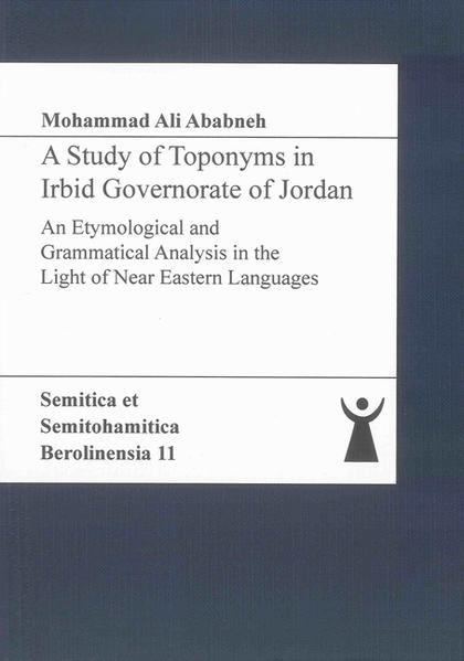 A Study of Toponyms in Irbid Governorate of Jordan - Coverbild