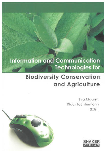 Information and Communication Technologies for Biodiversity Conservation and Agriculture - Coverbild