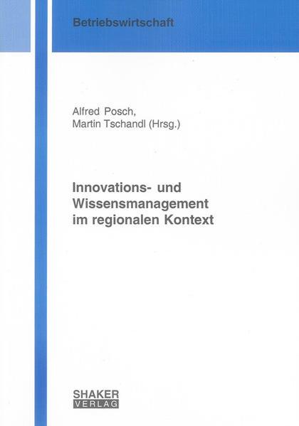 Innovations- und Wissensmanagement im regionalen Kontext - Coverbild