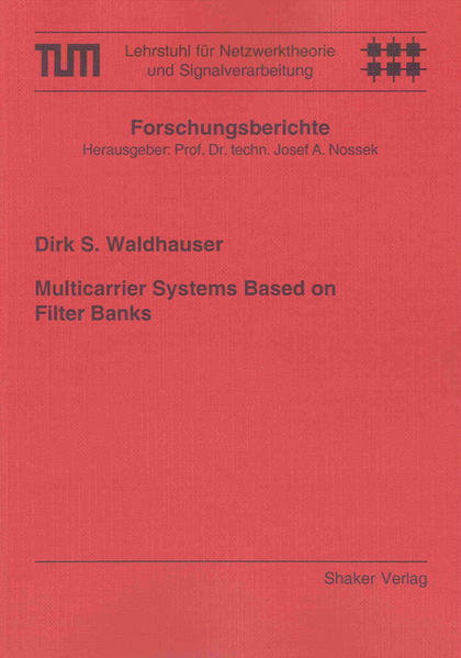 Multicarrier Systems Based on Filter Banks - Coverbild