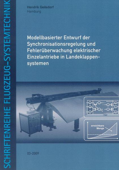 Modellbasierter Entwurf der Synchronisationsregelung und Fehlerüberwachung elektrischer Einzelantriebe in Landeklappensystemen - Coverbild
