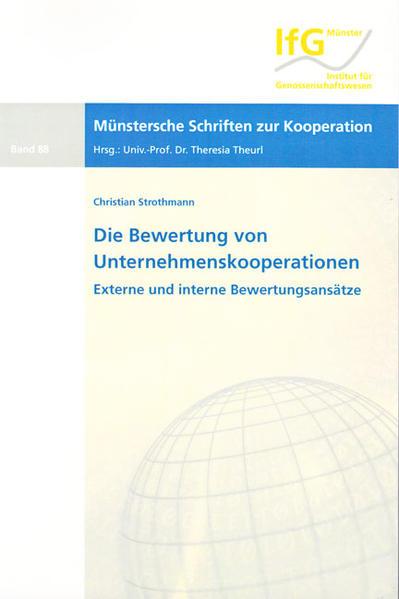Die Bewertung von Unternehmenskooperationen - Coverbild
