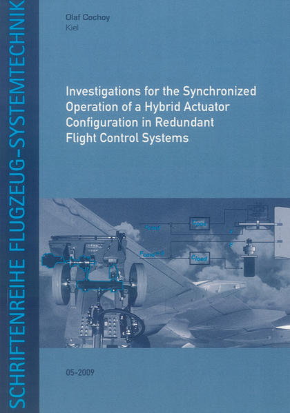 Investigations for the Synchronized Operation of a Hybrid Actuator Configuration in Redundant Flight Control Systems - Coverbild
