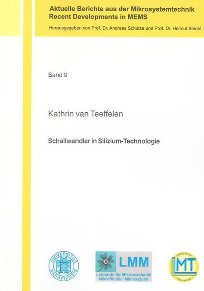Schallwandler in Silizium-Technologie - Coverbild
