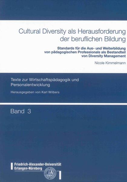 Cultural Diversity als Herausforderung der beruflichen Bildung - Coverbild