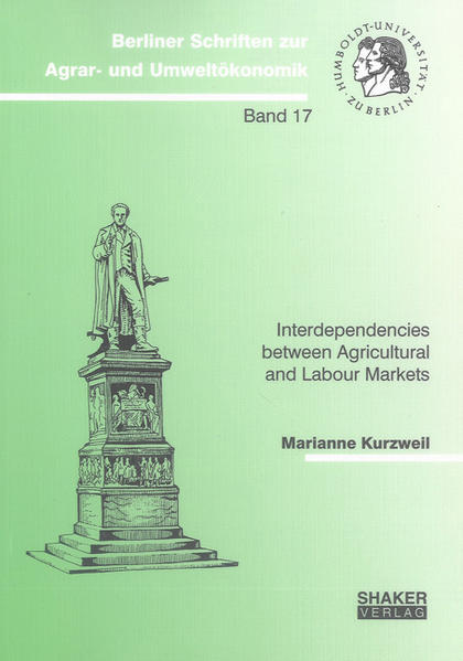 Interdependencies between Agricultural and Labour Markets - Coverbild