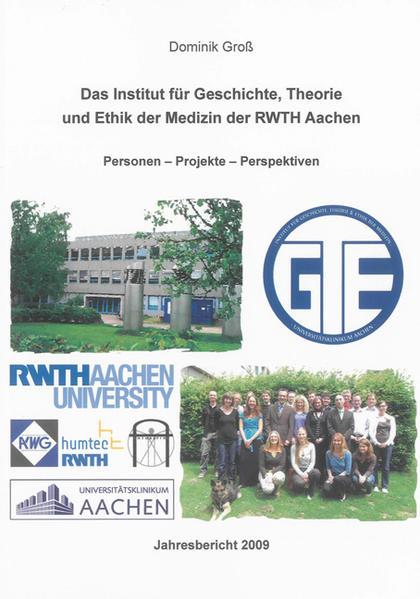 Das Institut für Geschichte, Theorie und Ethik der Medizin der RWTH Aachen - Coverbild