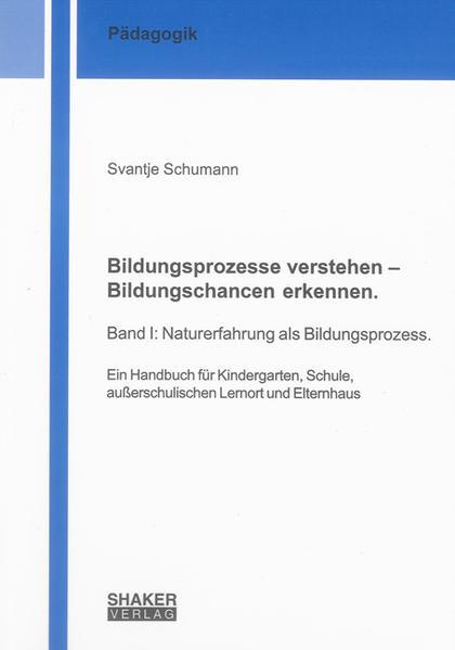 Bildungsprozesse verstehen – Bildungschancen erkennen. - Coverbild