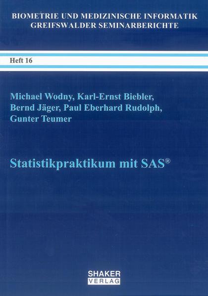 Statistikpraktikum mit SAS® - Coverbild
