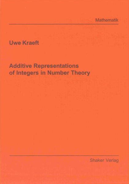 Additive Representations of Integers in Number Theory - Coverbild