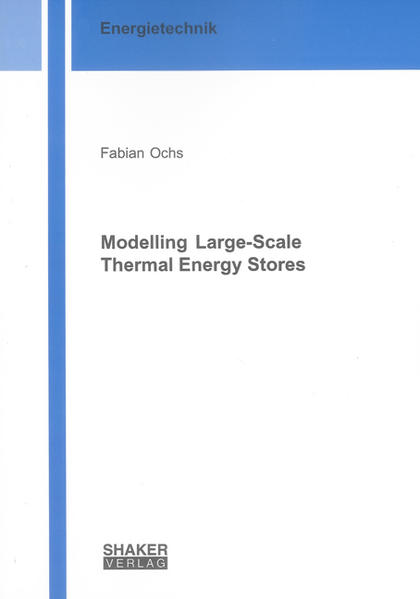 Modelling Large-Scale Thermal Energy Stores - Coverbild