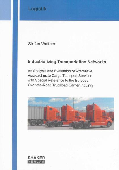 Industrializing Transportation Networks - Coverbild