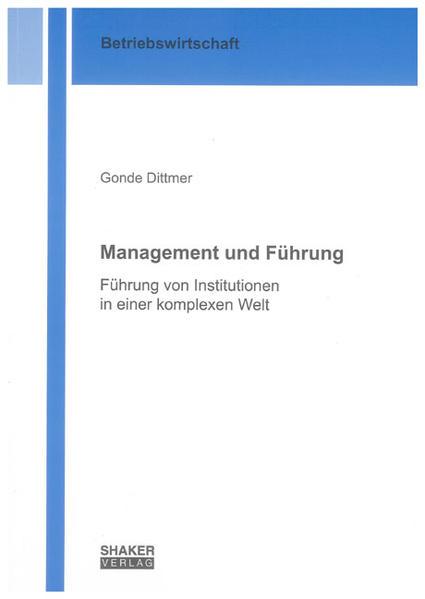 Management und Führung - Coverbild