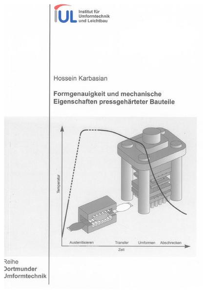 Formgenauigkeit und mechanische Eigenschaften pressgehärteter Bauteile - Coverbild