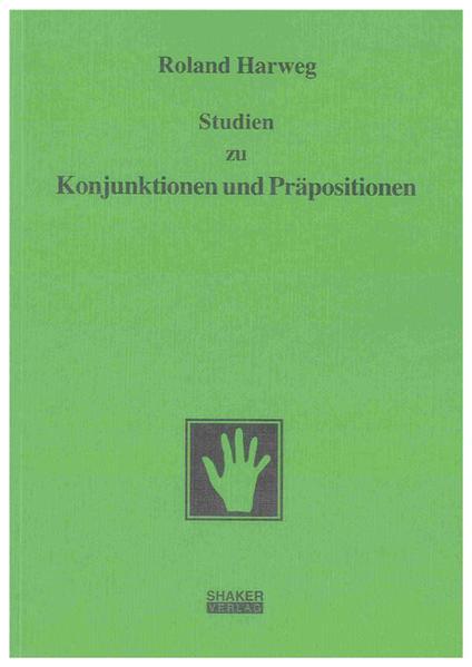 Studien zu Konjunktionen und Präpositionen - Coverbild