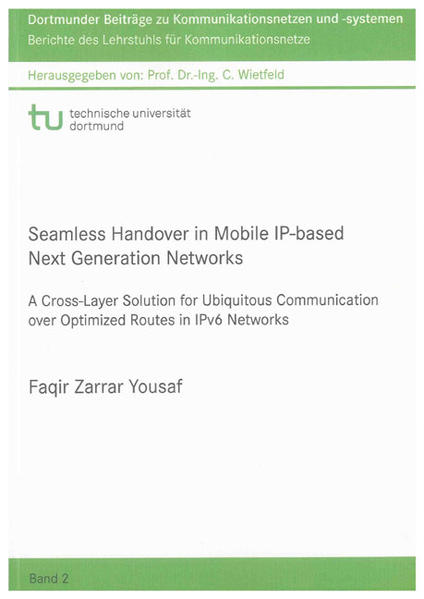 Seamless Handover in Mobile IP-based Next Generation Networks - Coverbild