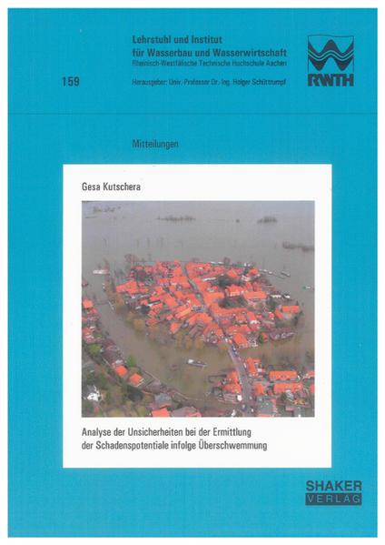 Analyse der Unsicherheiten bei der Ermittlung der Schadenspotentiale infolge Überschwemmung - Coverbild