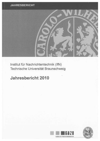 Jahresbericht 2010 - Coverbild