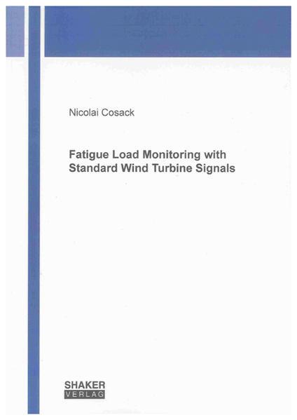 Fatigue Load Monitoring with Standard Wind Turbine Signals - Coverbild