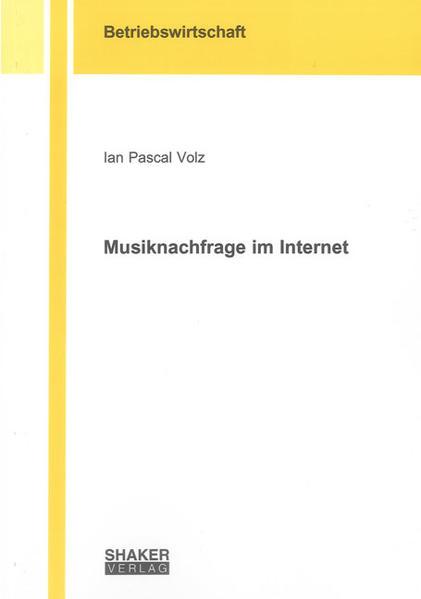 Musiknachfrage im Internet - Coverbild