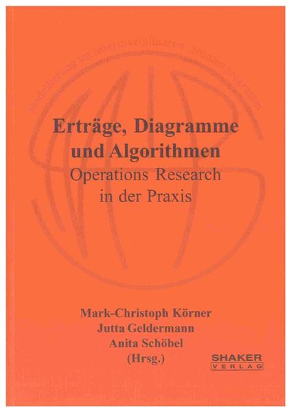 Erträge, Diagramme und Algorithmen - Coverbild
