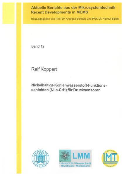 Nickelhaltige Kohlenwasserstoff-Funktionsschichten (Ni:a-C:H) für Drucksensoren - Coverbild
