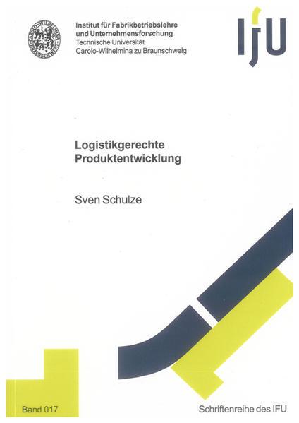 Logistikgerechte Produktentwicklung - Coverbild