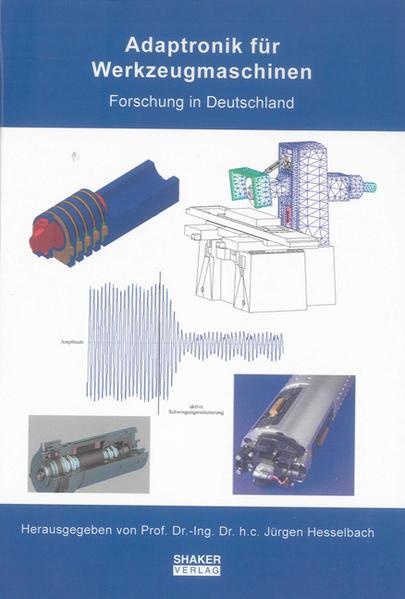 Adaptronik für Werkzeugmaschinen - Coverbild