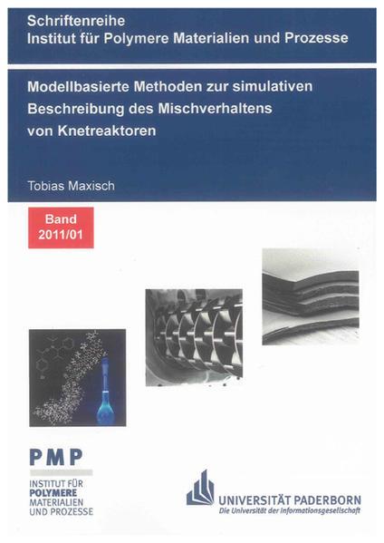 Modellbasierte Methoden zur simulativen Beschreibung des Mischverhaltens von Knetreaktoren - Coverbild