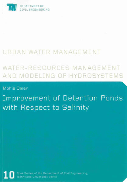 Improvement of Detention Ponds with Respect to Salinity - Coverbild