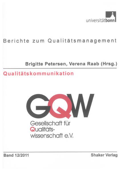 Qualitätskommunikation - Coverbild