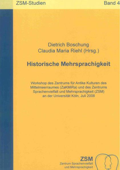 Historische Mehrsprachigkeit - Coverbild
