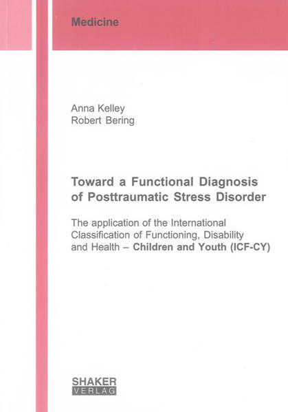 Toward a Functional Diagnosis of Posttraumatic Stress Disorder - Coverbild