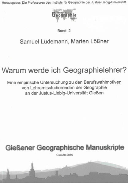 Warum werde ich Geographielehrer? - Coverbild
