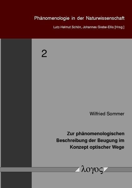 Zur phänomenologischen Beschreibung der Beugung im Konzept optischer Wege - Coverbild