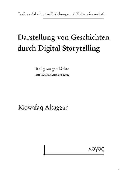 Darstellung von Geschichten durch Digital Storytelling - Coverbild