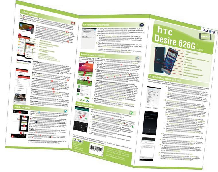 HTC Desire 626G - der leichte Einstieg - Coverbild
