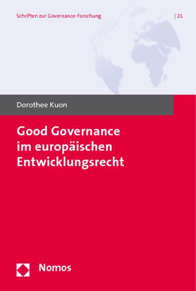 Good Governance im europäischen Entwicklungsrecht - Coverbild