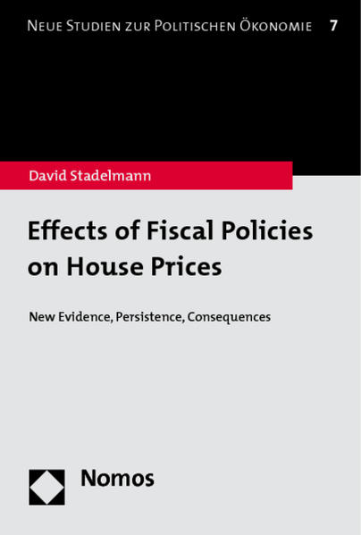 Effects of Fiscal Policies on House Prices - Coverbild