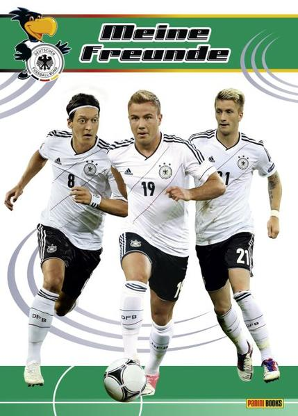 DFB Freundebuch - Coverbild