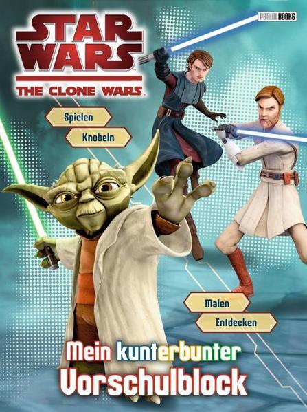 Star Wars The Clone Wars Vorschulblock - Coverbild