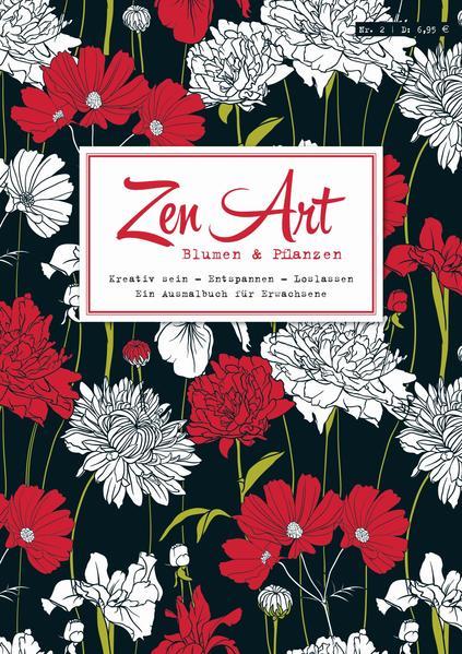 Zen Art, Bd. 2: Blumen & Pflanzen - Coverbild