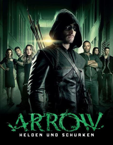 Arrow - Helden und Schurken - Coverbild